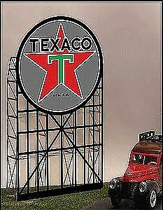 MICRO STRUCTURES O, N, HO SCALE ANIMATED BILLBOARD TCX SMALL   BN   5182