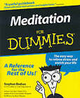 Meditation For Dummies by Stephan Bodian (Paperback, 1999)