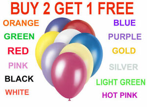 PLAIN-BALOON-BALLONS-20-X-10-034-helium-BALLOONS-Quality-Party-Birthday-CHRIENST