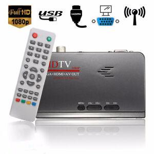 HDMI-1080p-DVB-T-t2-VGA-AV-Tuner-Digital-Konverter-Receiver-TV-Box-EU-US