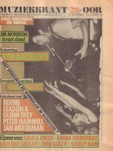 MAGAZINE-OOR-1977-nr-19-EAGLES-PETER-HAMMILL-ASHRA-JAN-AKKERMAN-SCHEESSEL
