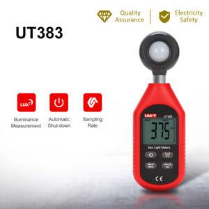 UNI-T UT383 Digital Light Meter Luxmeter Luminometer Photometer 199999Lux A5H8