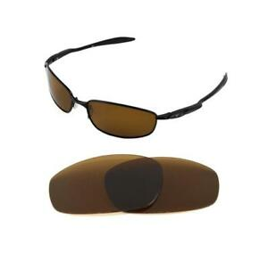 3b7004993d3 Image is loading NEW-POLARIZED-BRONZE-REPLACEMENT-LENS-FOR-OAKLEY-BLENDER-