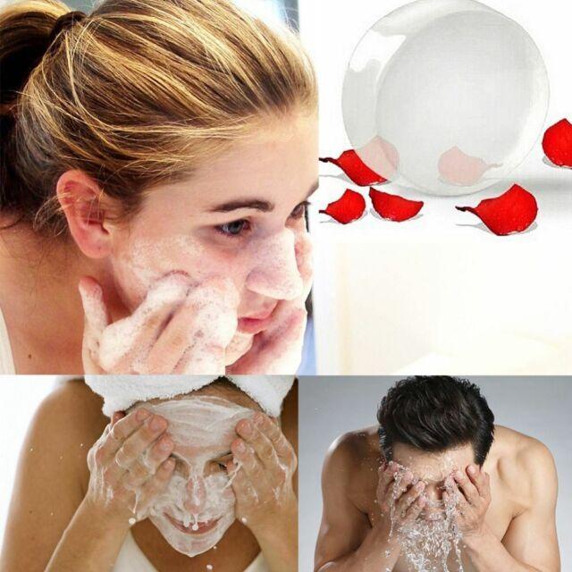 Anti Aging Natural Crystal Soap Skin Bath Body Bleaching Whitening Lightening z