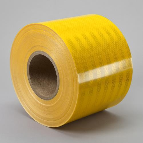 """3M 3432 Engineer Grade Prismatic Reflective YELLOW CONSPICUITY TAPE 3//4/"""" x 50 yd"""