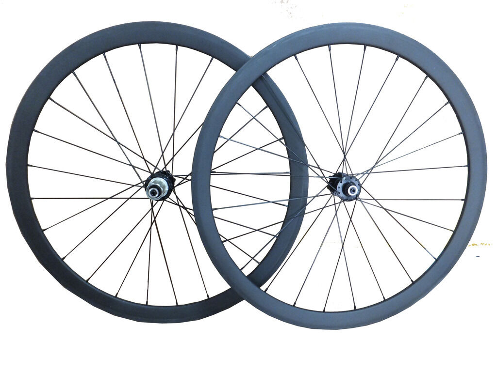 Disc Brake 23mm Width 38mm depth tubular carbon road bike Cyclocross wheelset