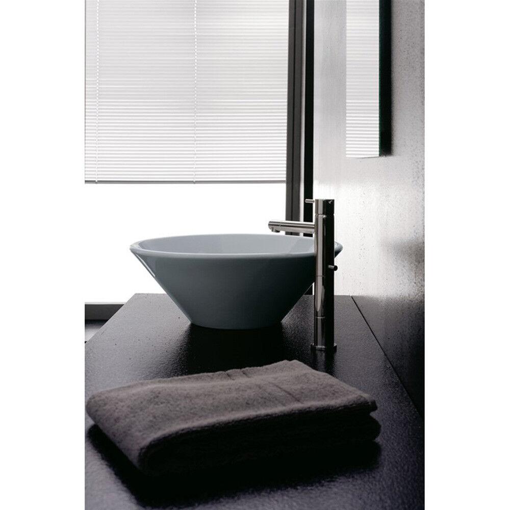 Lavandino Lavabo Bagno da appoggio serie Cono Thin-Line in ceramica