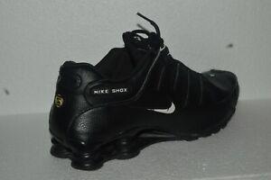 NIKE SHOX NZ EU 501524-091 Black Right Side Only Single Sneaker Size 10 No left