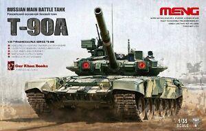 Meng-Model-1-35-TS-006-Russian-Main-Battle-Tank-T-90A-Brand-new-amp-Free-shipping