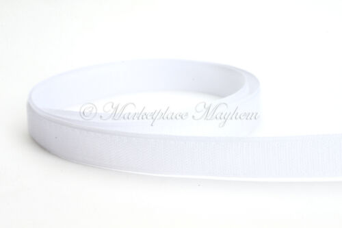 10cm//5M//25 metros-mm Gancho Y Lazo-Coser-Negro//Blanco//Color 16//20//25//30mm