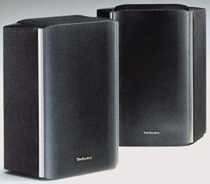 amp-GT-e-GT-TECHNICS-sb-s500-2-HOME-CINEMA-100W-ANTERIORE-COPPIA-ALTOPARLANTI