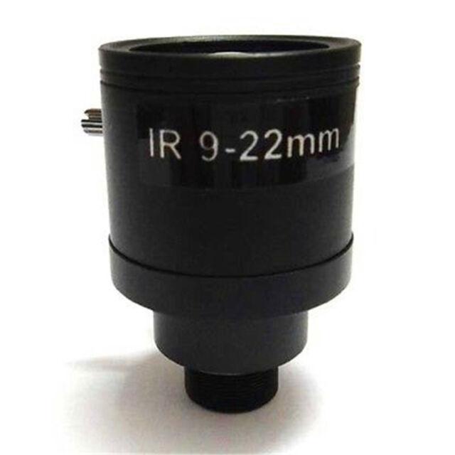 1//3/'/' 9-22mm Zoom Manual Focus MTV CCTV Lens M12*0.5 F1.4 for Security IP Camera