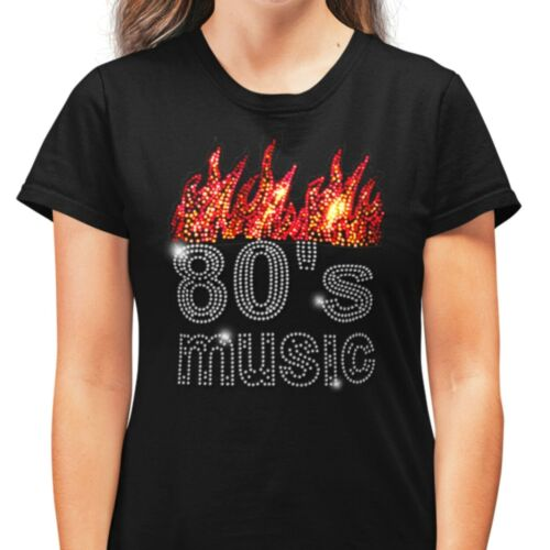 SIXTIES 60s Music Rhinestud T Shirt 1960s retro design all sizes
