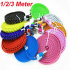 USB Sync braided 3m Data Charger Cable lead cord for ipad 3 ipad 2 iphone 4s 4