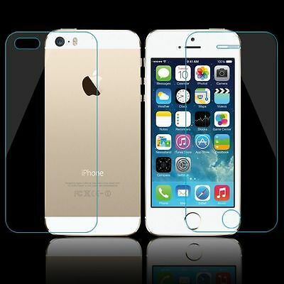 100% Genuine Screen Protector Tempered Glass Front and Back Cover iPhone 6,6S