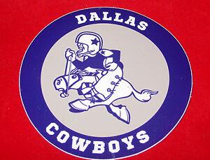 357d5bf049041 Image is loading Dallas-Cowboys-Vintage-Logo-Joe-Vinyl-Decal-Window-