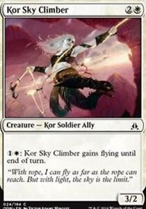 Kor Sky Climber NM x4 Oath of the Gatewatch MTG Magic Cards White Common