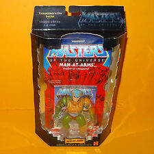 2000 MATTEL MOTU HE-MAN COMMEMORATIVE SERIES MAN-AT-ARMS FIGURE MOC CARDED LTD