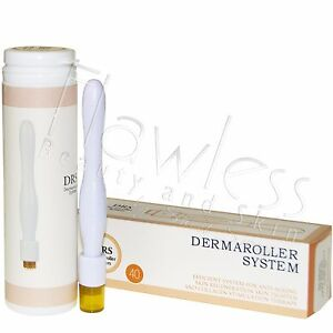 Professional 40 Needle Titanium Derma Stamp & Micro Needling Therapy System