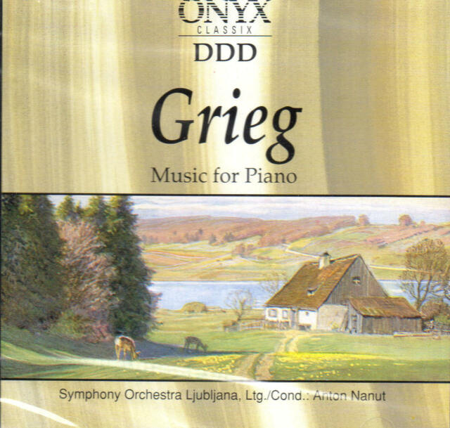 E. Grieg - Music for Piano  - CD - NEU