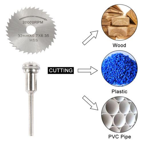30Pcs Diamond Cutting Disc Saw Blade Grinding Wheel Set for Dremel Rotary Tool