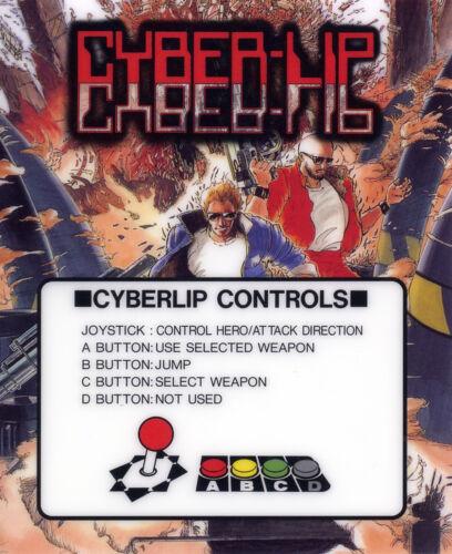 Cyber-Lip Neo Geo Arcade Marquee