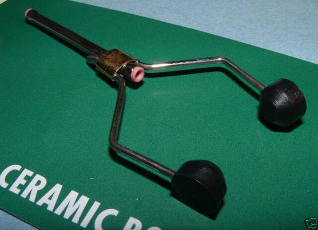Dr Slick 4 inch Dual Ceramic Bobbin Fly Tying Thread Bobbin CBOB4