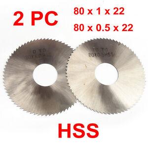 """TEC Summit HSS Milling Slotting Slitting Cutter 3/""""x0.028/""""x1/"""" 40T"""