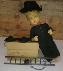Hummelwerk-Felix-W-Goebel-Oeslau-M-J-Germany-1920-Antique-Doll