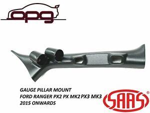 SAAS Gauge Pillar Pod for Ford PX2 PX3 Ranger Wildtrak Raptor 52mm Gauges 15>22