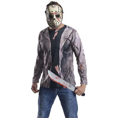 Rubies Official Jason Adults / Mens Fancy Dress Halloween Costume Set - Standard