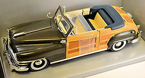 Chrysler-Windsor-Ville-amp-Country-Cabriolet-1948-brun-bro-1-18-Motor-Classique