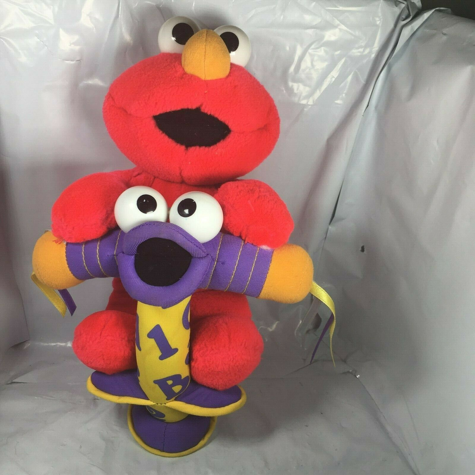 Fisher Price 2000 Talking Jump /& Learn Elmo Doll Tested Working