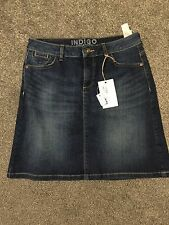 M&S Indigo Collection Denim Mini Skirt  BNWT Size 8