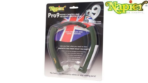 Napier Pro 9 protection auditive Chasse Clay Pigeon Tir