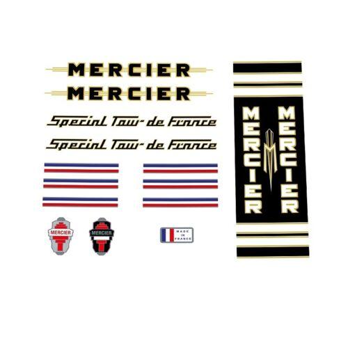 Mercier spécial Tour de France 1960s//70s decals transferts stickers n.34