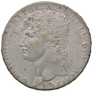 r37-11-Napoli-Gioacchino-Murat-1808-1815-12-Carlini-1810-MANCANZA-di-CONIO