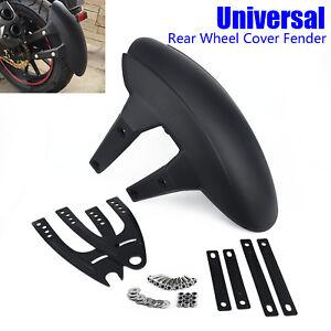 Universal-Motorrad-Hinterradabdeckung-Kotfluegel-Spritzschutz-Kotfluegel-amp-Halterung