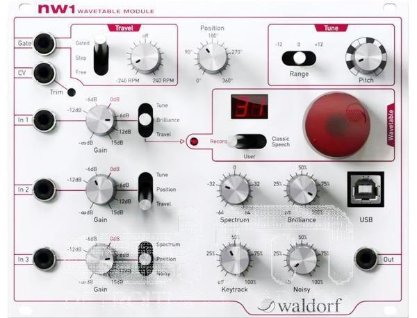 Waldorf NW1 NW1 NW1 tabla de ondas oscilador  nuevo  [] modular de Detroit  venta directa de fábrica