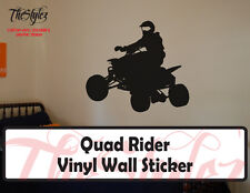 Quad Rider Vinyl Wall Sticker