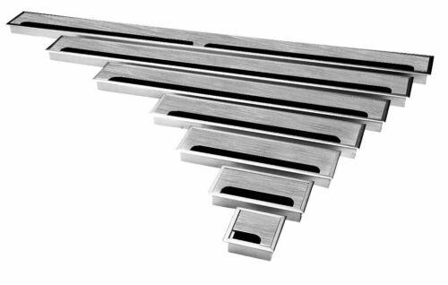 Aluminium Kabeldurchführung 80mm Kabeldurchlass Kabelauslass Edelstahl eloxiert