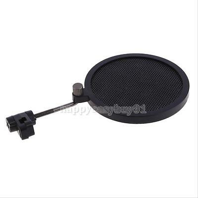Record Studio Microphone Mic Wind Screen Pop Filter Mask Gooseneck Shied