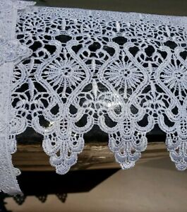 Lily 2 inches Wide Ivory Vintage Venice Lace Trim By Yard