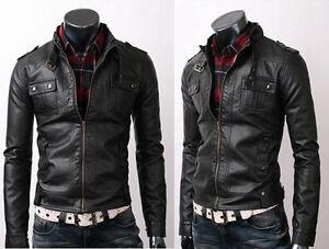 Vintage-Biker-Belted-Rider-Strap-Pocket-Fine-Quality-Slim-Fit-Leather-Jacket