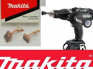 Makita cb440 brosses bdf451 BDF456 BFR440 BFR540 BFR550 bfr750 BHP441 2 paires