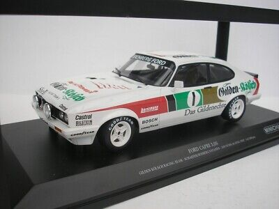 Ford Capri III  3.0S  24h Nürburgring 1982 Gilden Kölsch Rosberg 1:18 Minichamps