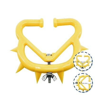 Plastic Cattle Weaner 3 Pack Yellow Large