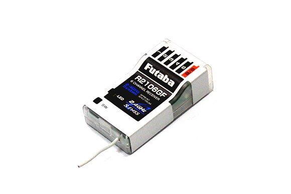 Futaba Rc Model r2106gf S-FHSS 2.4ghz 6ch R/C HOBBY High Voltage Receiver re777