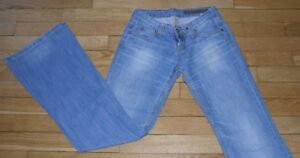 CHEYENNE-Jeans-pour-Femme-W-24-L-34-Taille-Fr-34-Ref-V118