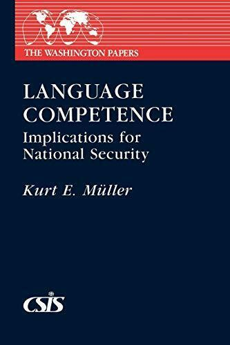 Language Competence: Implications for National Security